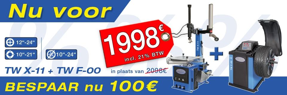 Angebot TW X-11 / TW F-00 DE