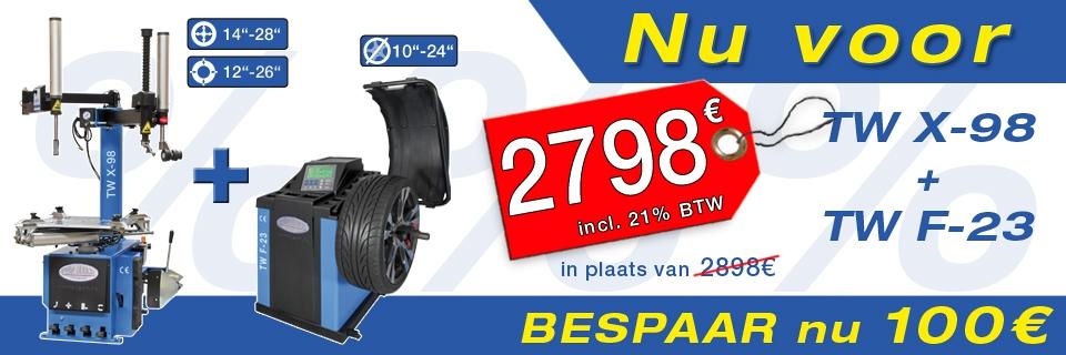 Angebot TW X-98 / TW F-23 DE