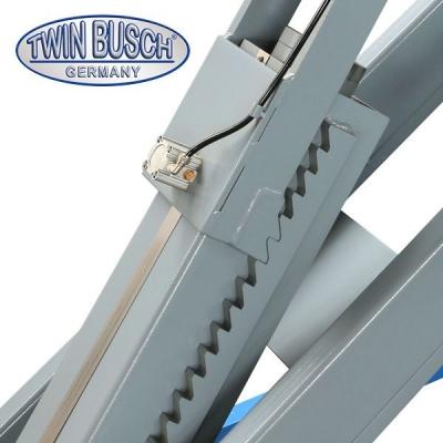 Schaarhefbruggen - vloer-niveau inbouw - 4.2 T