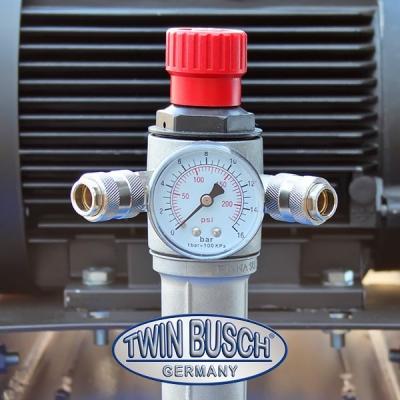 Lucht compressor liggende opstelling 270 L