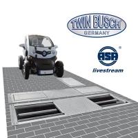 Complete Test straat met remmen, vering en sporing tester